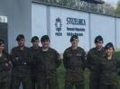 Klasy mundurowe z LO Kołaczyce na zajęciach w KWP w Rzeszowie
