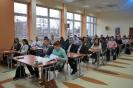 Uczniowie Liceum Ogólnokształcącego w  Kołaczycach w etapie regionalnym konkursu Państwowej Inspekcji Pracy