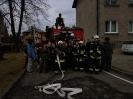 Ćwiczenia ratowniczo-gaśnicze klasy pierwszej w OSP KSRG Kołaczyce