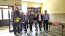 Wręczenie nagrody w konkursie Projekt z klasą