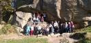 Klasa 1GA na wycieczce w Ciężkowicach