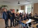 Spotkanie z absolwentem LO mł. asp, Arkadiuszem Ochałkiem