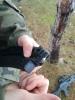 Strzelcy z Kołaczyc na strzelnicy