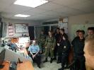Ćwiczenia klasy mundurowej w JRG Jasło